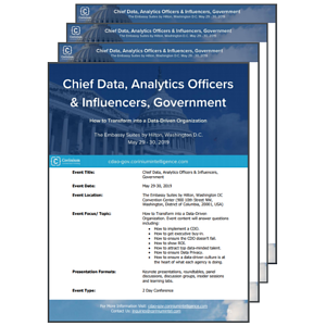 Download the Key Event Information PDF | Chief Data